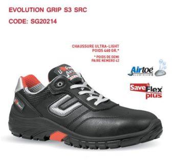 Chaussure de sécurité basse  EVOLUTION GRIP  S3 SRC