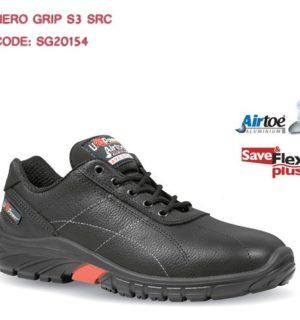 Chaussure de sécurité basse  NEGRO  GRIP  S3 SRC