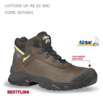 Chaussure  sécurité  haute LATITUDE  S3 SRC