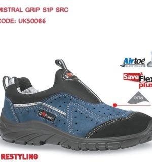 Chaussure  sécurité  basse MISTRAL S1P SRC