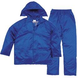 Ensemble  de pluie  EN400BR bleu roi